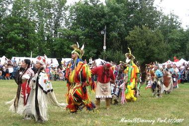 西雅图的最西端 北美印第安人帕瓦节