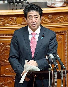 安倍指名批中国破坏日本和平环境.(