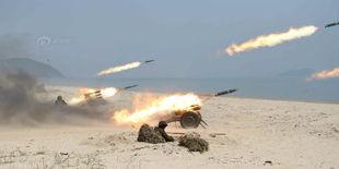 金正恩严厉批评火炮训练搞形式主义 心不在战场上新闻频道