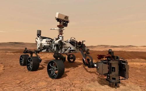 新一代火星探测器「毅力号」.