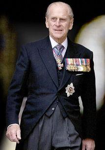 资料图:英国菲利普亲王