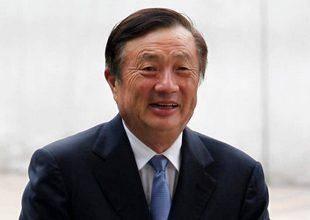 图为华为总裁任正非