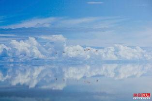玻利维亚罗曼蒂克天空之境 闪闪乌尤尼盐湖
