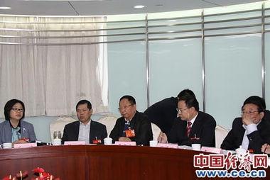 河南团分小组审议全国人大常委会工作报告