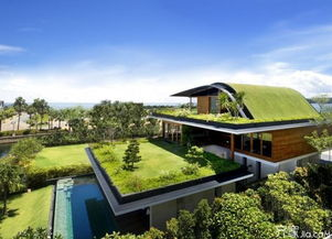 好风水屋顶花园效果图