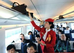 关于高铁客运服务中的知识