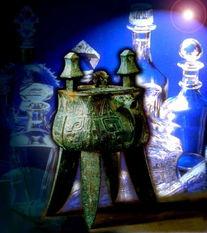 青铜器编图片中国古典艺术图酒杯创意瓶行,中国古典艺术,青铜器编
