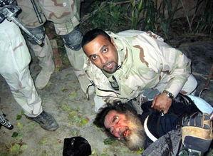 2003年,萨达姆被捕