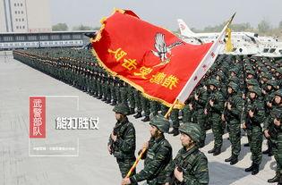 武警部队强军图集用信念奏响强军战歌