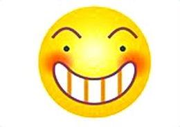 网友最爱的表情符号 呲牙偷笑发呆居前三新闻频道