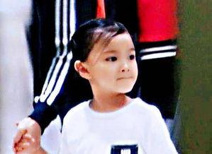 近日,有网友晒出一组刘德华5岁女儿刘向蕙的近照.