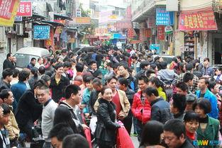 广州节后服装市场招工难 街上老板比工人还多