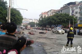 桂林一学校门口发生爆炸 至少2人死亡