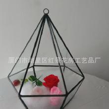 玻璃花瓶养花的玻璃花瓶