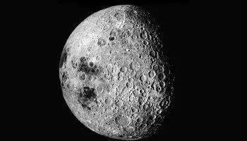 从月球看地球真可怕(在月球上看地球,是不)