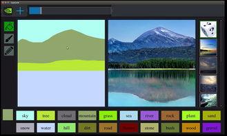NVIDIA公布了其最新的图像处理研究成果 GauGAN