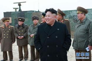 金正恩指导朝鲜人民军女火箭炮兵部队进行炮击训练