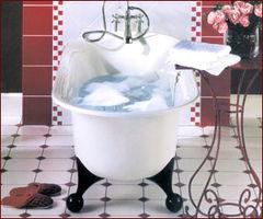 独立浴缸的复古情节 组图