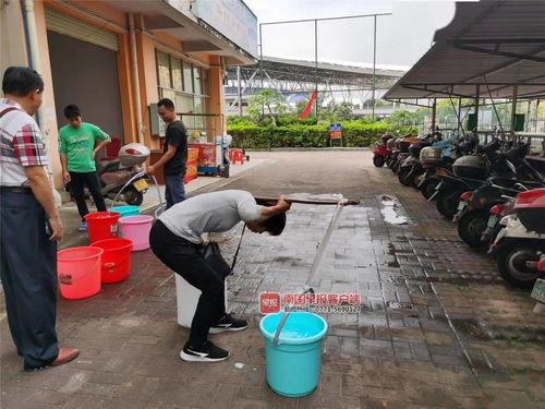 早新闻丨南宁一业主家污水反冒,锅碗瓢盆全被泡物管称洗洗还能用