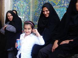 神秘面纱下的漂亮伊朗女孩