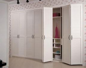 衣柜折叠门怎么打开