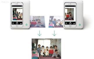 日本推出iPhone小型照片扫描仪Omoidor