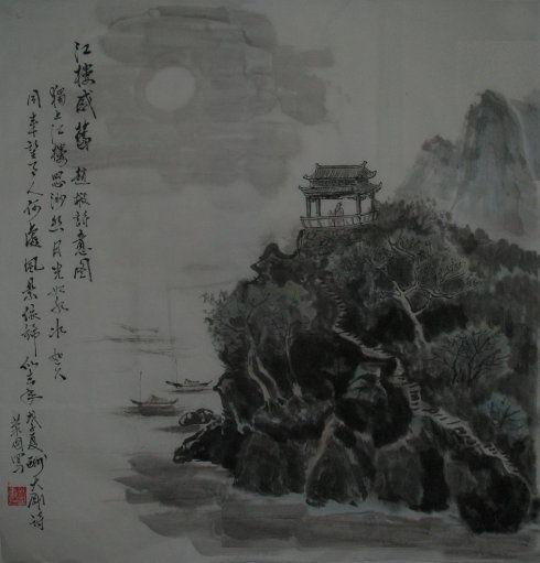 关于月光与水的诗句