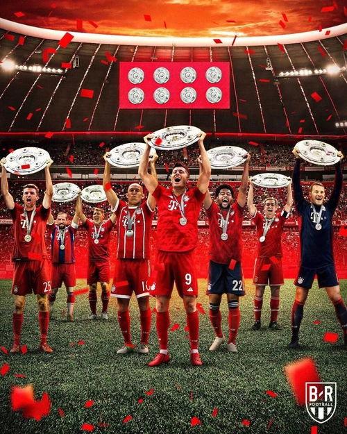 拜仁还是拿到了八连冠
