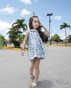 6岁韩国小萝莉Wonei甜美撩人少女风 小七哈珀萌宝宝有压力 阿隆索爱女酷似芭比 C罗卡卡夏奇拉球星萌宝宝大PK