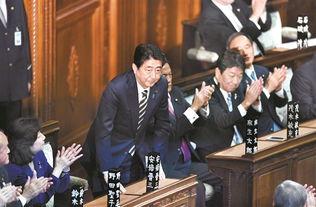 资料图:日本首相安倍晋三新华社记者