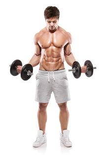 健身肌肉男