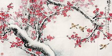 描写梅花的诗句古诗词泰山