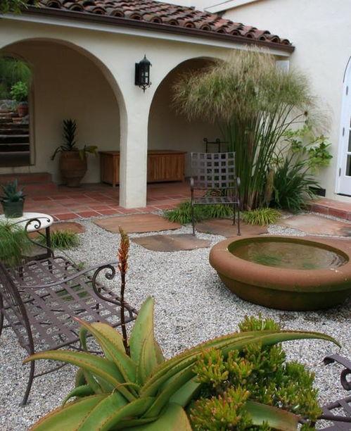 形容庭院幽静而雅致的诗句