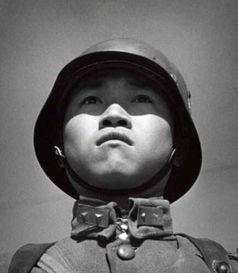 图为杂志上国民党士兵形象.