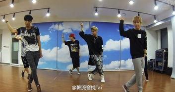音乐 舞蹈 EXO 官方练习室版 Growl 咆哮 出来啦 小伙伴们快来围观起