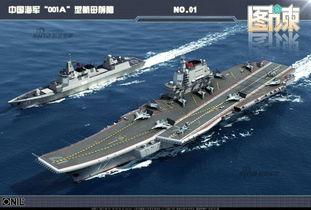 国产001A航母清空甲板 23日能否下水令人期待