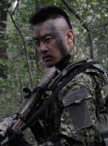 求 我是特种兵之利刃出鞘 里面的 察猜 的相片 我想剪那个头发看看怎么...