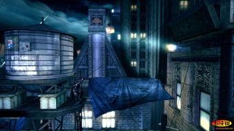 蝙蝠侠 阿甘起源之黑门监狱 全流程攻略