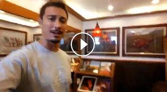 山西网络广播电视台 菲律宾一公厕文艺范十足 男模 比我家还好