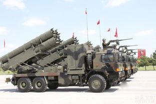 土耳其阅兵式展示中国制火箭炮