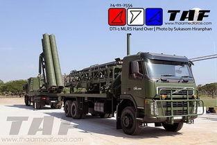 泰国借助中国ws1b技术研制出首款国产火箭炮