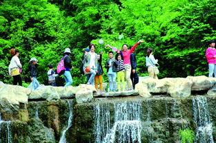 三门峡市景区鄂冀皖鲁等地游客也明显增多