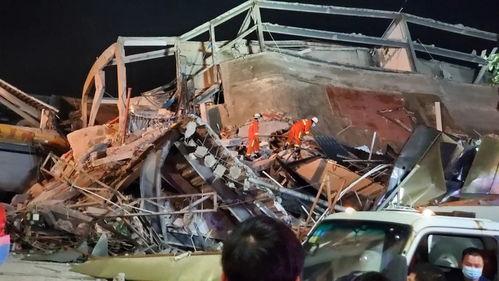 福建泉州一快捷酒店发生坍塌事故800余人参与救援