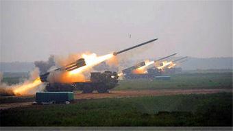 资料图:中国新型03式远程火箭炮.