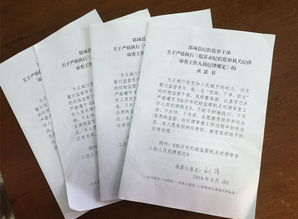 纪检监察干部承诺书
