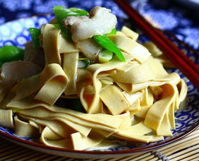 东北干豆腐炒尖椒的家常做法