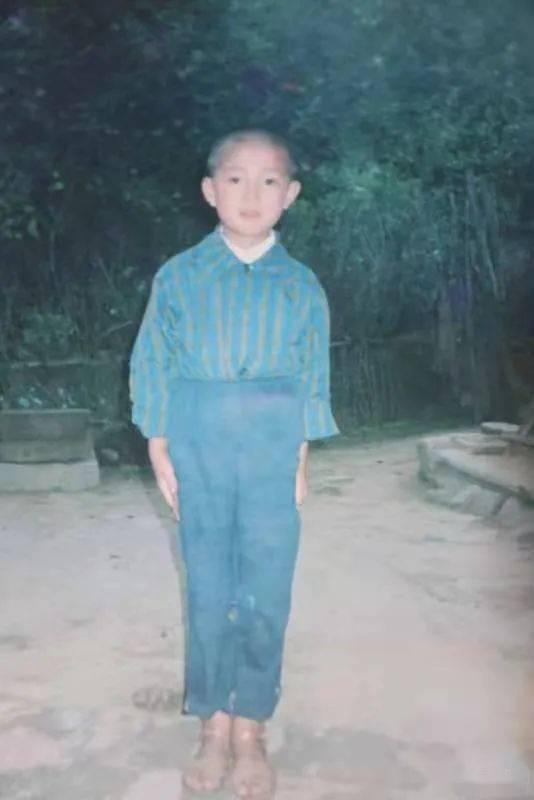 童年时期的陈红军