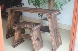 古琴桌核桃木