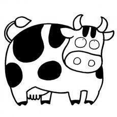 牛简笔画图片大全