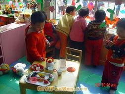 幼儿园区角布置图片 角色区